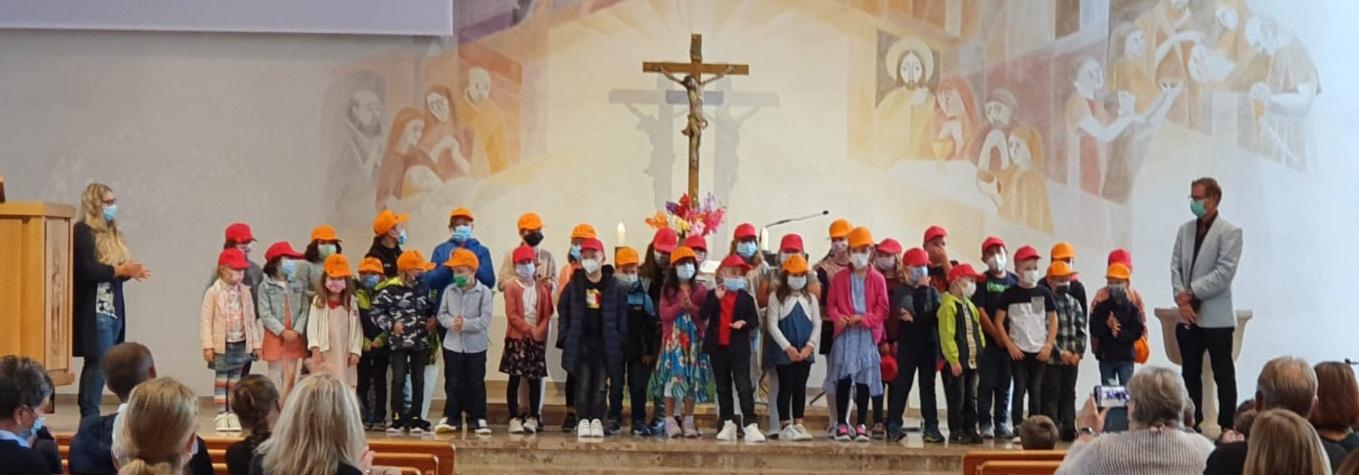 Einschulung der Erstklässler an der Peter Härtling Grundschule